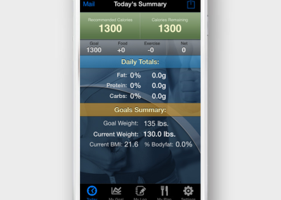 InFit App Sample Data