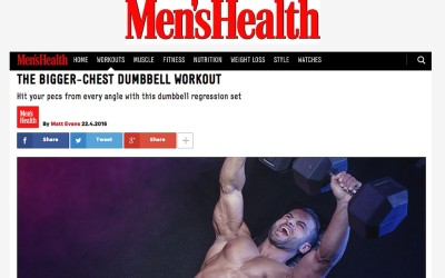 The Bigger Chest Workout – by Alex Isaly for Men's Health UK