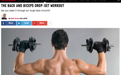 Back and Biceps Drop-Set Workout – By Alex Isaly for Men's Health