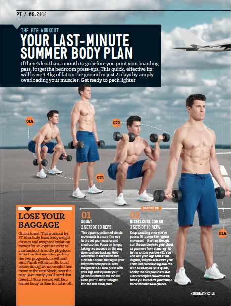 Men's Health UK - Article by Alex Isaly