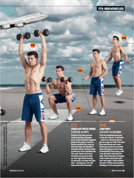 Men's Health UK - Article by Alex Isaly (pg 2)