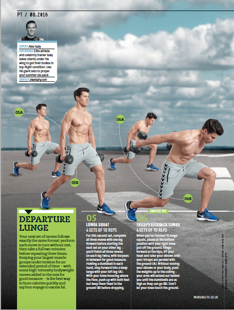 Men's Health UK - Article by Alex Isaly (pg 3)