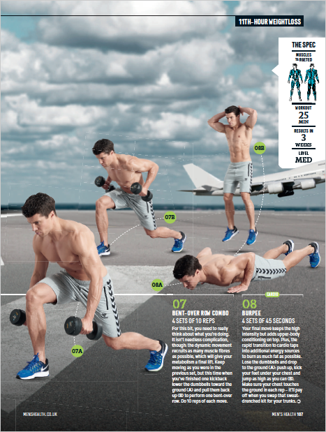 Men's Health UK - Article by Alex Isaly (pg 4)