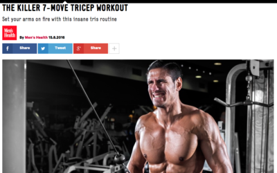 THE KILLER 7-MOVE TRICEP WORKOUT by Alex Isaly for Men's Health UK