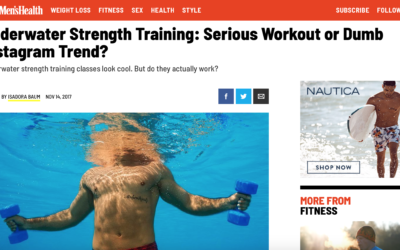 Underwater Strength Training by Alex Isaly for Men's Health