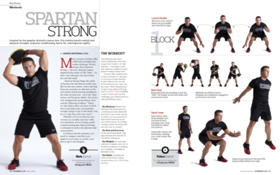 Spartan Strong by Alex Isaly for Experience Life