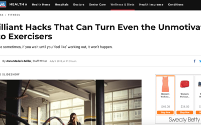 Brilliant Hacks That Can Even Turn the Unmotivated Into Exercisers by  US News