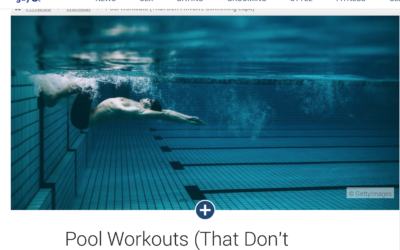 Pool Workouts by Alex Isaly for AskMen